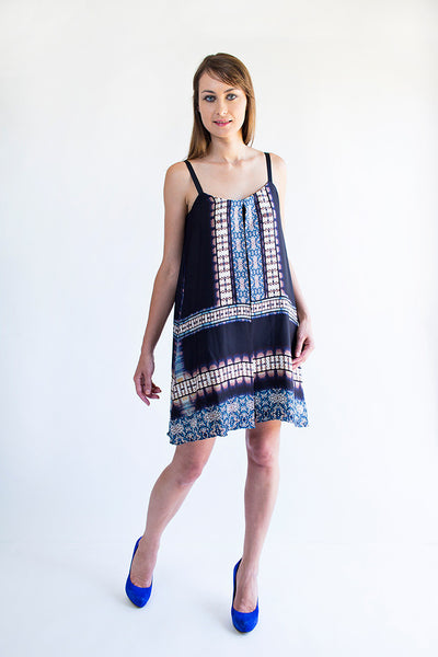 Muse <br> Tribal Print Swing Dress