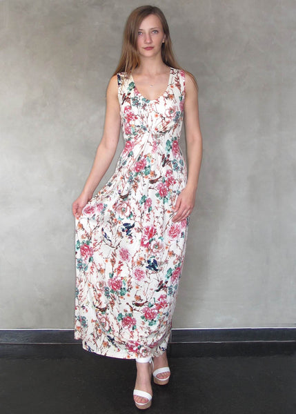 Uttam Boutique <br> Floral Print Maxi Dress