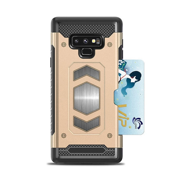 Samsung Galaxy S10 Plus S10E J4 J6 J8 Note9 8 A8 Plus A6 A7 A9 S9 S8 Car Stand Magnet Mount shockproof Case - Casebuddy