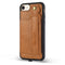 Jisoncase Leather Case iPhone 8 8S 7 With Card Slot Lanyard Design Vintage Luxurious Fashion Wallet - Casebuddy