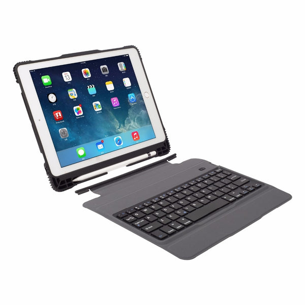 Shockproof Combo Case iPad Air 3 10.5 2019 Magnetically Detachable Keyboard Case Cover With Pencil Holder - Casebuddy