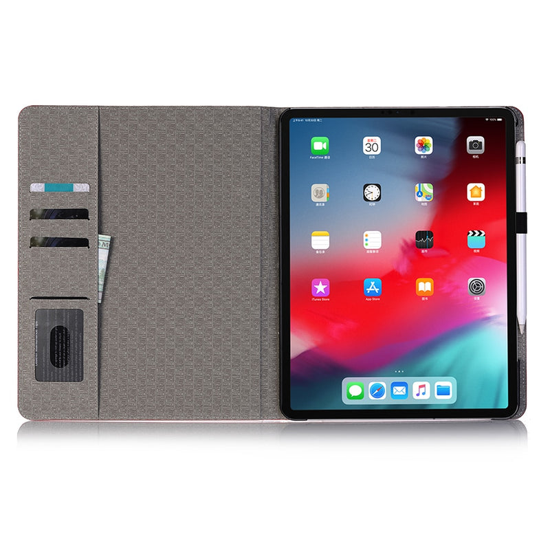 iPad Air 3 10.5 2019 Cover Fashion Ultra-thin Smart Flip Crocodile Leather Case With Wallet Stand - Casebuddy