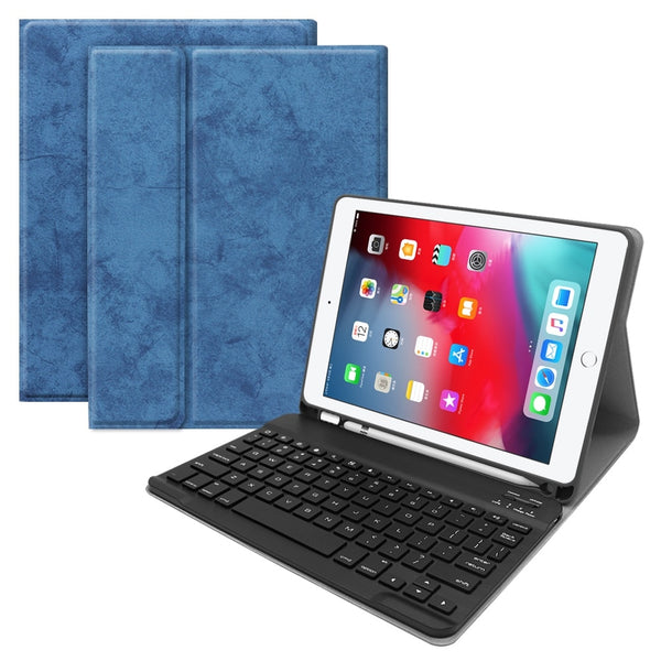 Backlit 7  Colors iPad Air 3 10.5 Case Bluetooth Keyboard With Pencil Holder Ultra Slim Stand - Casebuddy