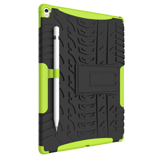 Heavy Duty Defender Rugged Armor Dazzle Shockproof KickStand Case Apple IPad Air 3 Cover - Casebuddy