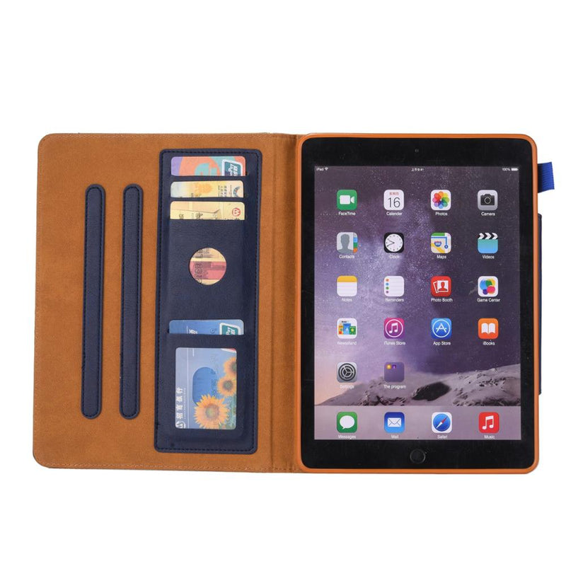 "iPad Air 3 10.5"" 2019 Case Smart Leather Card slot Stand Purse Style Wallet Stand Perfect Fit - Casebuddy"