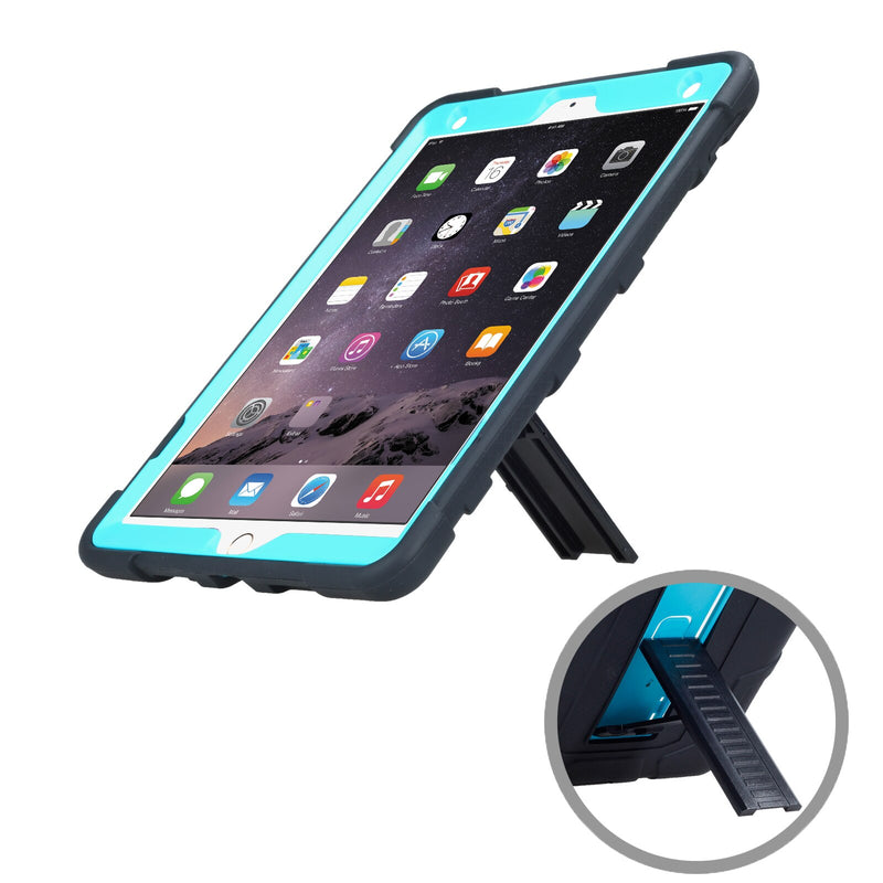 Apple iPad Air 3 2019 Case 3 In 1 Armor Hybrid Shockproof Protective Back Cover With Stand - Casebuddy
