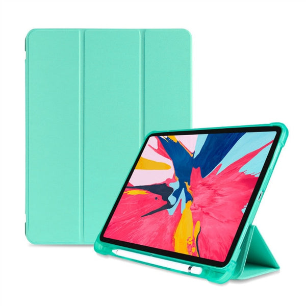 iPad Pro 11 Case With Pencil Holder Smart Cover Soft PU Leather - Casebuddy