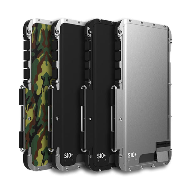 Armor King Stainless Steel Metal Flip Case For Samsung Galaxy S10 S10E S9 S8 Plus S7 Edge Shockproof - Casebuddy