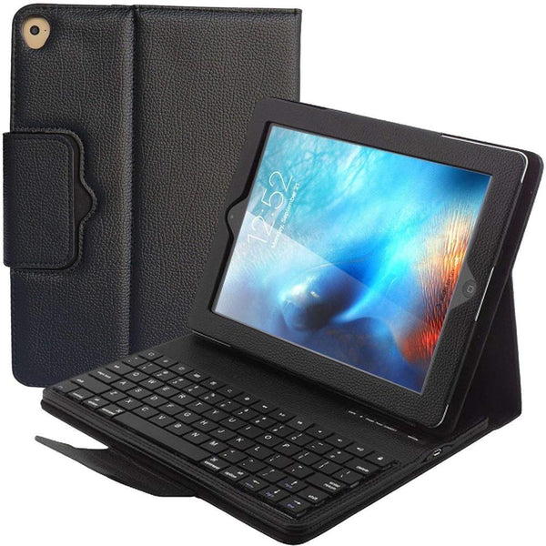 Wireless Bluetooth Keyboard Case Cover For iPad 5 / 6 / Air / Air 2 / Pro 9.7 iPad 9.7 2017 2018 Case with Keyboard - Casebuddy