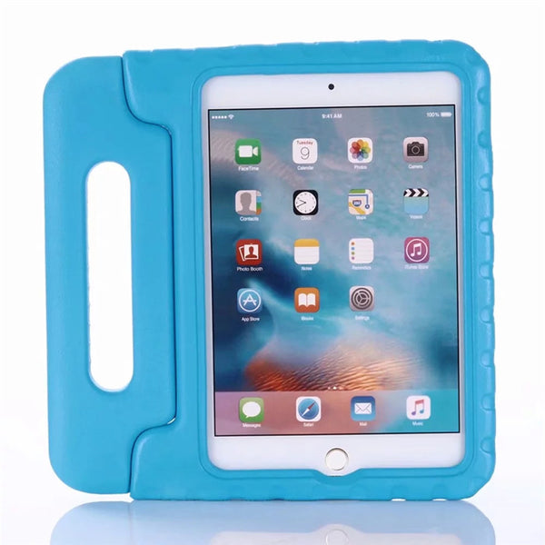 Kids Cartoon 3D Handle Stand Case Apple iPad Mini 3 2 1 Children EVA Foam Shockproof Cover - Casebuddy
