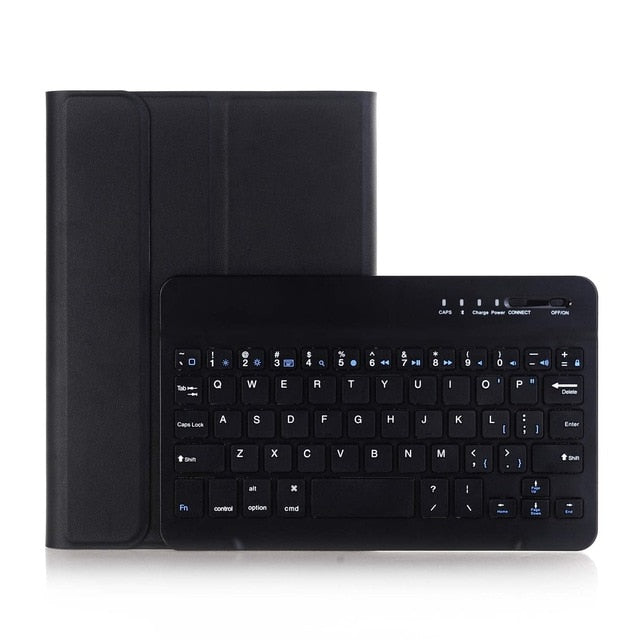 Wireless Bluetooth Keyboard Removable Cover Ultra-Slim Lightweight Leather Case Mini iPad 1/2/3 - Casebuddy