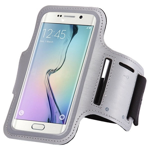 Running Sports Armband Samsung Galaxy Note 9 8 S9 S8 S10 Plus S10e S6 S7 Edge A8 A6 J6 J4 Plus J8 A7 Case