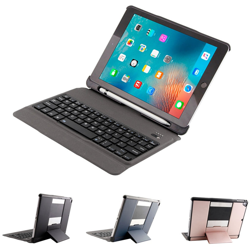 Removable Bluetooth Keyboard Case For iPad Air Air 2 iPad Pro 9.7 New iPad 2017 2018 9.7 inch - Casebuddy