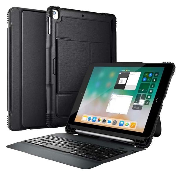 "Super Combo Shocproof Protection Bluetooth Keyboard Case iPad 9.7"" 2018 2017 iPad pro 9.7 / Air 1 /Air 2 - Casebuddy"