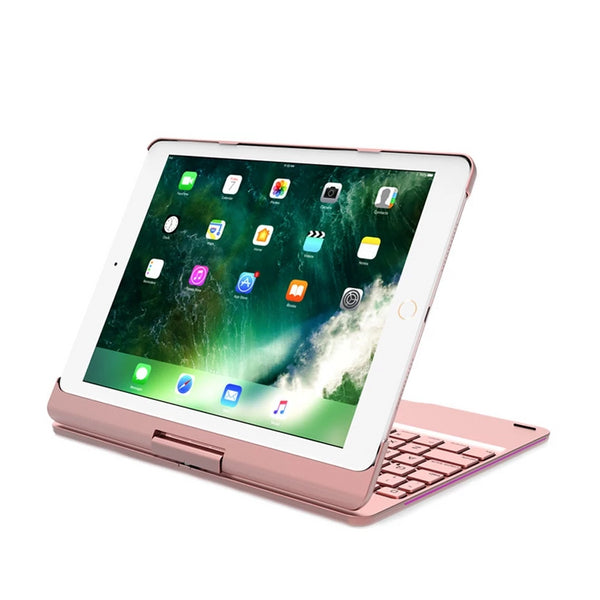 iPad 9.7 2018 / 2017 / air / air 2 / Pro 9.7 inch with Backlit Bluetooth Keyboard 360 Degree Rotate Full Body Cover - Casebuddy