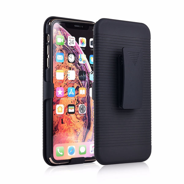 Running Sport Waist Belt Clip Slide Cover Kickstand Holder Back Case for iPhone XS MAX XR X 8 plus 7 6S 6 Plus 5S 5 - Casebuddy