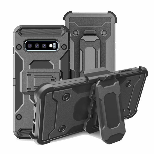 Shockproof Belt Clip Holster Full Protective Armor Case For Samsung Galaxy S10 S10e S9 S8 Plus Note 9 8 - Casebuddy