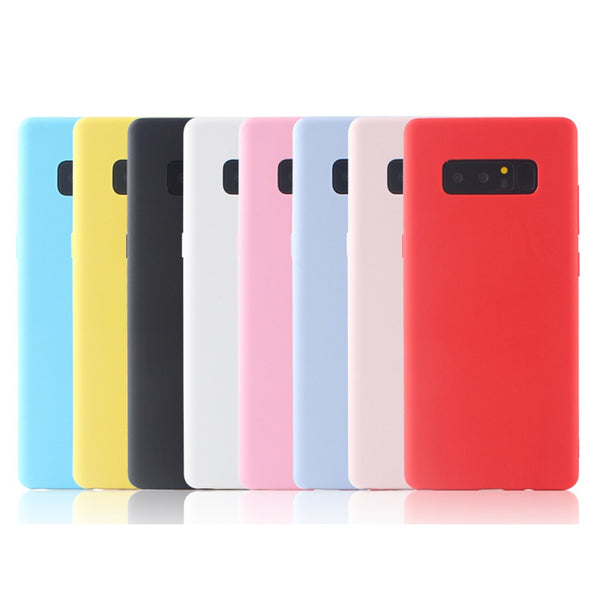 Soft TPU Candy Color Case Samsung Galaxy S10 S10e A7 A9 A6 A8 Plus J4 J6 J8 S6 S7 Edge S8 S9 Plus J3 J5 J7 - Casebuddy