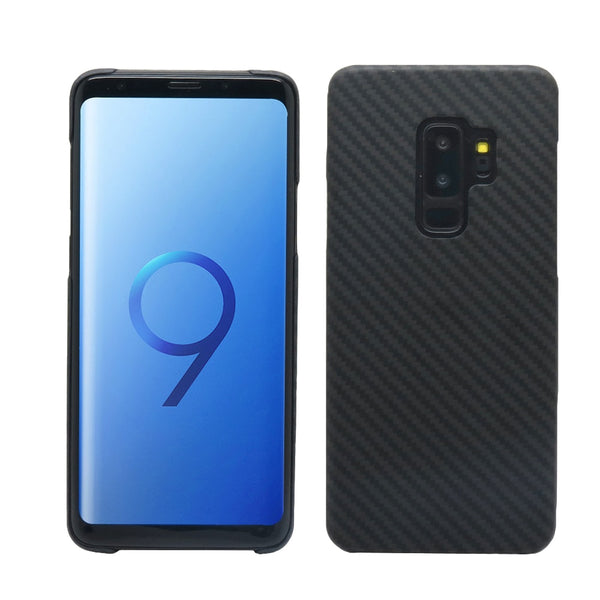 Samsung Galaxy S10 S10e S9 S10 Plus Note 9 Carbon Fiber Pattern Case Ultra Thin Aramid Fiber Protective Cover - Casebuddy