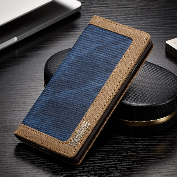 Samsung Galaxy S6 S7 Edge S8 S9 S10 Plus S10e Note 8 9 Case Leather Flip Wallet Case - Casebuddy
