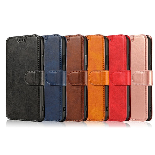 Retro Leather Magnetic Case For Samsung Galaxy S10 S9 S8 Plus S10E Note 10 Pro 9 8 Flip Wallet Phone Cover - Casebuddy