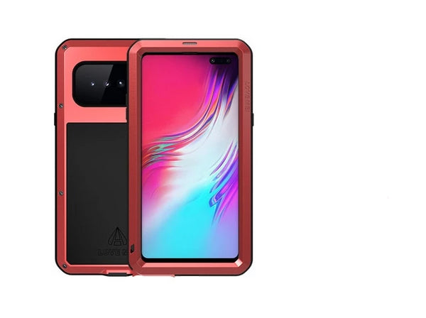 LOVE MEI Shock Dirt Proof Water Resistant Metal Armor Cover for Samsung Galaxy S10 5G Case - Casebuddy