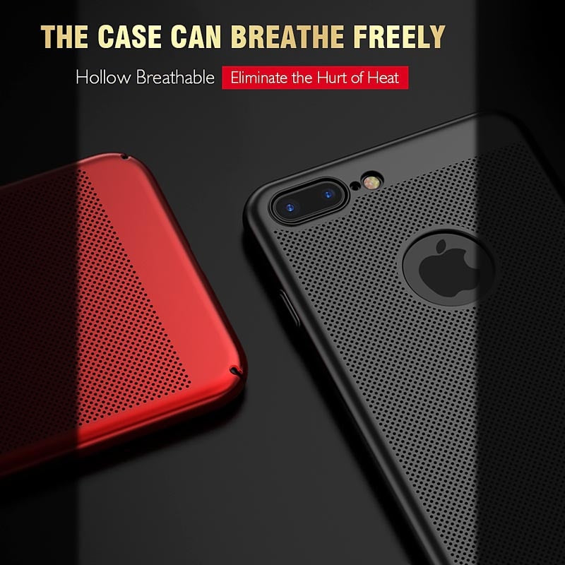 Heat Dissipation iPhone 11 Pro Max XS XR MAX 7 8 Plus 6 6S Plus 5 5S SE 11 Pro Max Hard PC Shockproof Ultra - Casebuddy