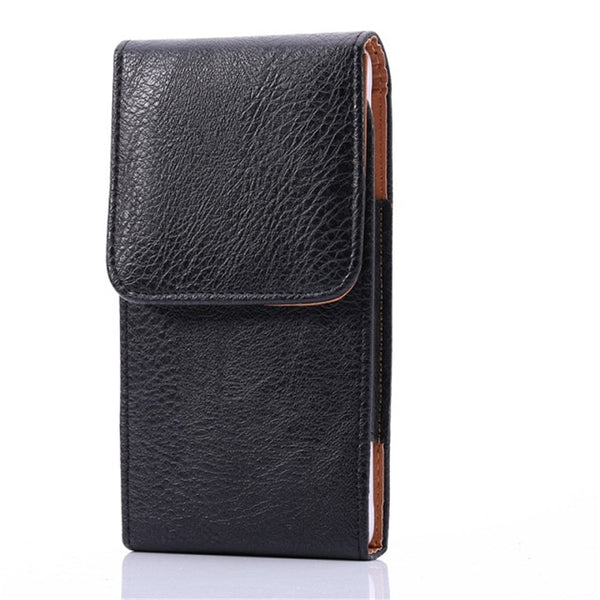 Luxury Litchi Leather Belt Clip Flip Case Samsung Galaxy S7 Edge S8 S9 S10 Plus S10e Note 2 3 4 5 8 9 10 Plus Holster Cover - Casebuddy