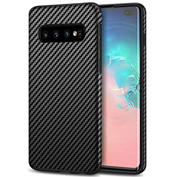 Carbon Fiber Leather Case Samsung Galaxy S10 Plus S10E S9 S8 Note 10 Plus 5G 9 8 A6 A7 J4 J6 J8 2018 Cover Soft Caso - Casebuddy