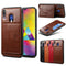 Samsung Galaxy A70 A60 A50 A30 A20 A10 Note 10 Plus 5G 9 8 Flip Leather Card Holder Silicone Case - Casebuddy