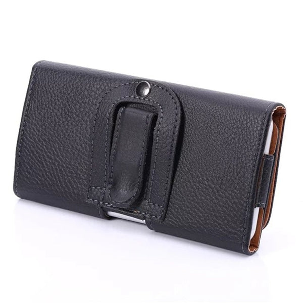Universal Phone Pouch PU Leather Cover Samsung Galaxy Note 10 Plus 5G A20E A10E A40 A60 J2 J4 Core - Casebuddy