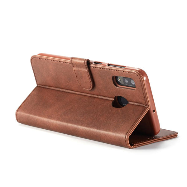 Samsung Galaxy Note 10 Plus 5G A70  A50 A40 A30 A20 A10 M10 M20 M30 Case Leather Wallet Cover Stand Case Flip Bag - Casebuddy