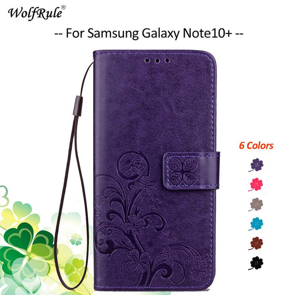 Wallet Samsung Galaxy Note10+ Plus 5G Case Flip PU Cover - Casebuddy