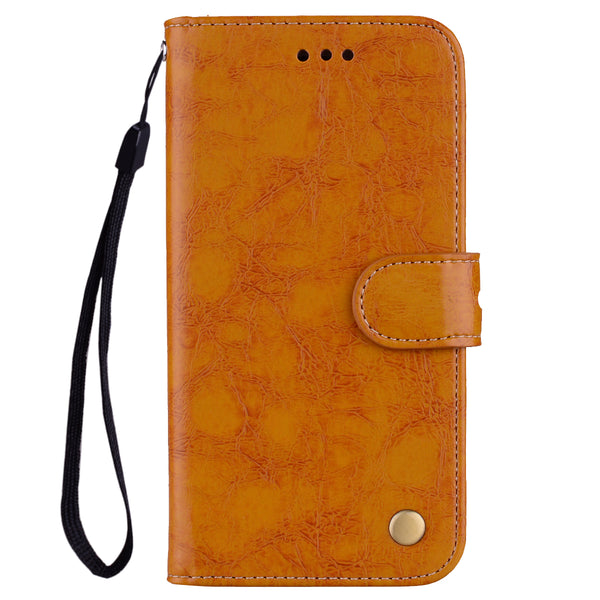 Retro Leather Case Samsung Galaxy S6 S7 Edge S8 S9 S10 Plus S10e Note 10 Plus 5G A10 A20 A20E A30 A40 A50 A60 A70 - Casebuddy