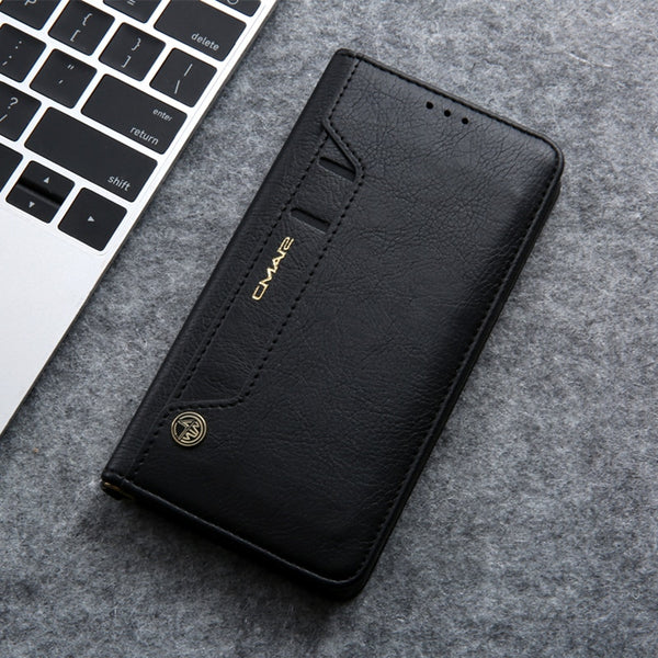Samsung Galaxy Note 10 Plus 5G  Leather Case Magnetic Flip Wallet Cover PU Leather Stand Full Case Bag - Casebuddy