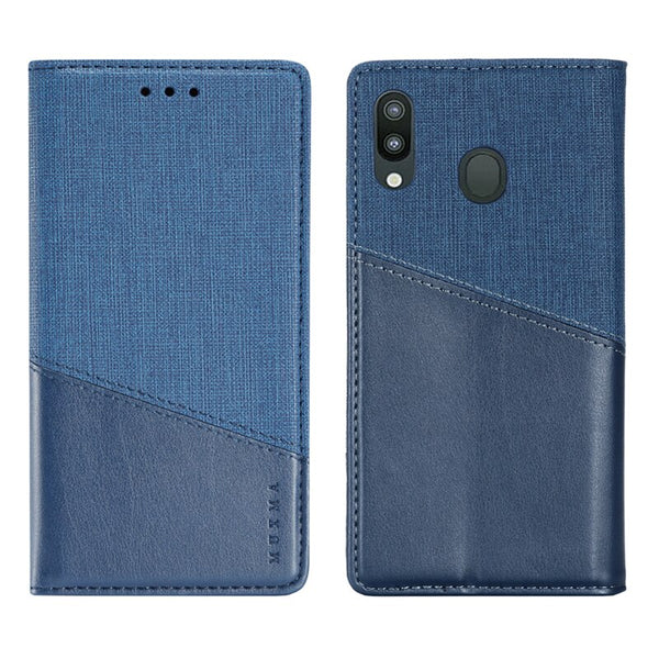 Leather Case Samsung Note 9 8 10 Plus 5G S9 S10 Plus M10 M20 A7 A8 A9 A10 A20 A50 A70 Flip Full Cover - Casebuddy