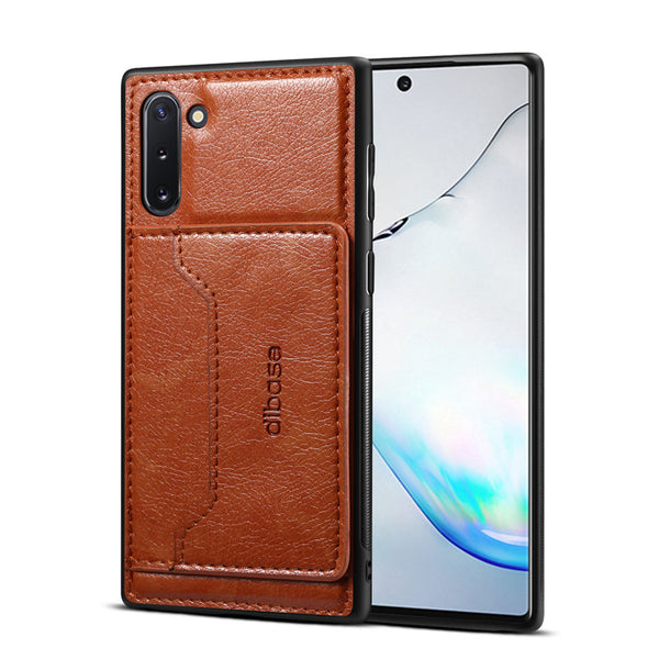 Card Holder Stand Flip Leather Back Cover Samsung Note 10 S10 Plus 5G A70 A60 A50 A30 A750 - Casebuddy