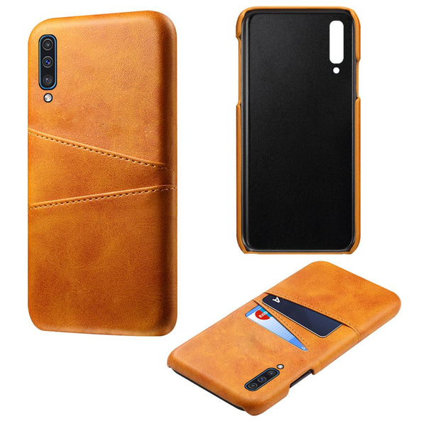 Samsung Galaxy A50 Note 10 Plus 5G A70 A60 A40 A30 A20 A20e Case PU Leather PC Card Slot Protective Cover - Casebuddy