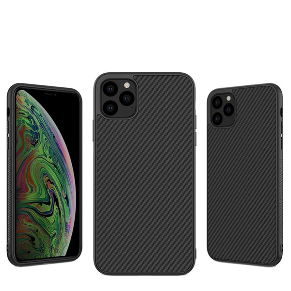 Synthetic Fiber Carbon PC Back Cover Ultrathin Slim Case iPhone 11 Pro Max 5.8/6.1/6.5 inch - Casebuddy