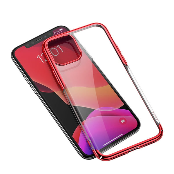 Baseus Luxury Plating iPhone 11 Pro Max Case Hard PC Back Cover Protective Case Coque Fundas - Casebuddy