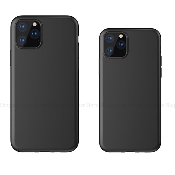 iPhone 11 Pro Max XS MAX XR X 7 8 6 6S Plus 5 S 5S SE TPU Matte Soft Silicone Cover Conque Case - Casebuddy