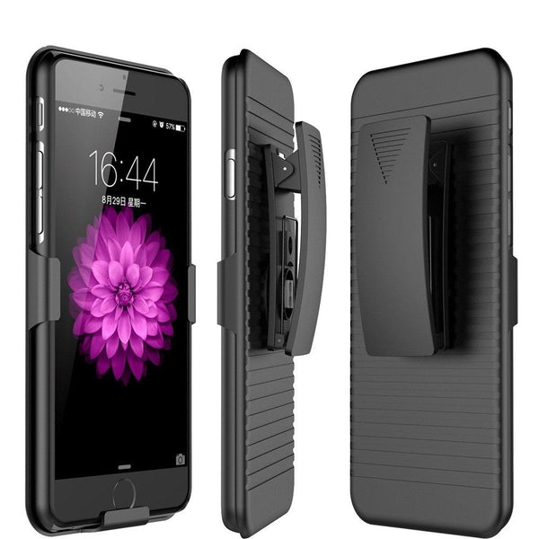 Hybrid Holister Defender Builder Case+BELT CLIP For iphone 111 pro max XR XS MAX X 7 8 6 6S PLUS 5S - Casebuddy