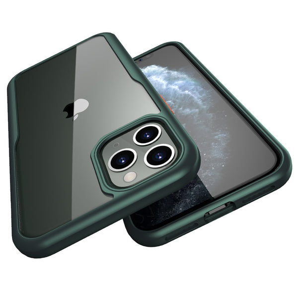 Shockproof Series iPhone 11 Pro Max Case Military Grade Drop Tested Translucent Matte Case with Soft Edges - Casebuddy
