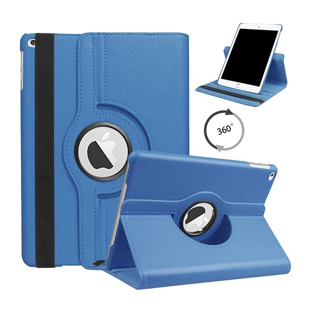 Smart Case iPad 10.2 2019 Cover Apple iPad 7th Generation A2200 A2198 A2232 360 Degree Rotating Stand - Casebuddy