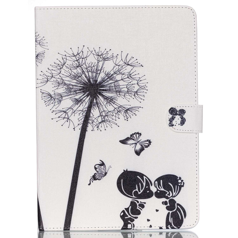 ipad 2 3 4 9.7inch Air 1 2 Mini 5 4 3 2 1 Case Dandelion Leather Protective Wallet Stand Fashion Cover - Casebuddy