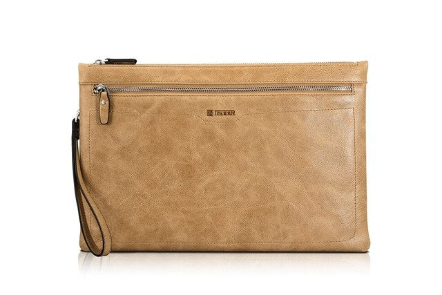 iCarer Fashion Tablet Sleeve Pouch Case iPad Mini 1 2 3 4 5 Real Leather Laptop Zipper Sleeve 8inch - Casebuddy