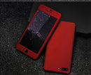 FLOVEME 360 Full Protection Hard Case iPhone 5 5s SE 7 6 6s 8 8S Plus - Casebuddy