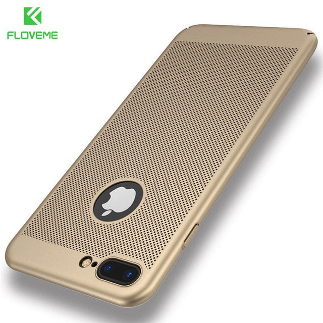 FLOVEME Luxury Super Slim iPhone 5 5s SE 7 6 6s 8 8s Plus X XS Matte Cover - Casebuddy