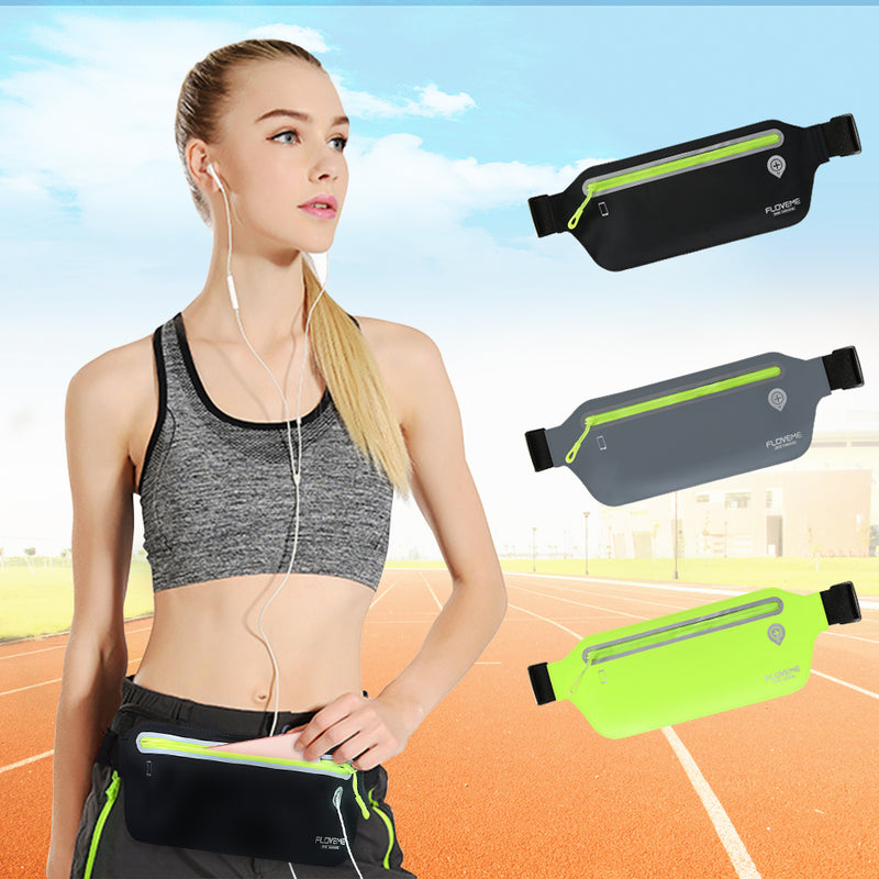 "FLOVEME Capacity Universal Waist Waterproof Pouch iPhone X XS XR XS MAX 8 7 6 Plus Sport Packs Headset Hole 6.5"" - Casebuddy"