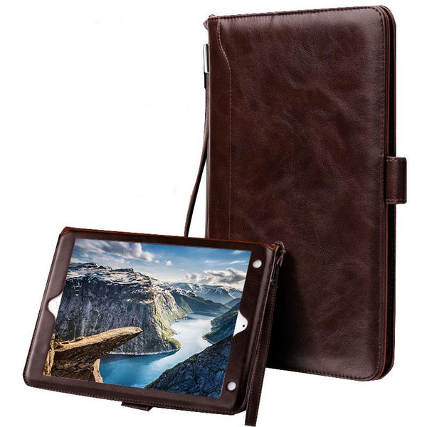 Light Weight Luxury iPad 2 3 4 Mini 1 2 3 4 5 luxury Business Pocket Book Retro Flip Stand Smart Cover Magnetic